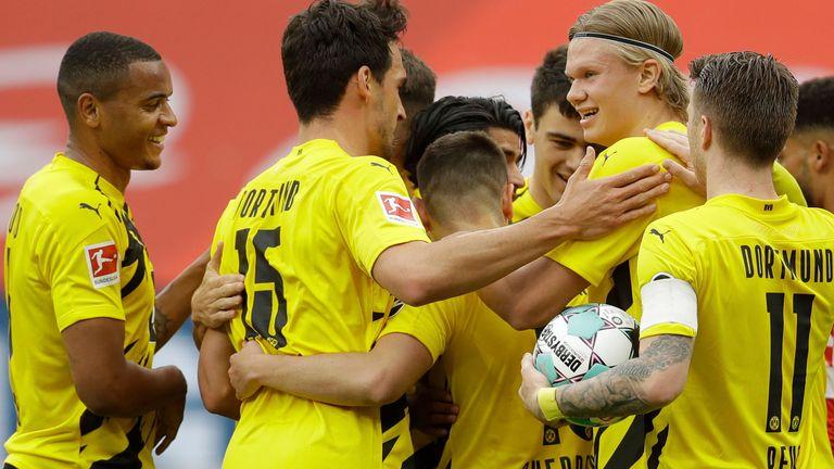 borussia dortmund have secured champions league football for next season