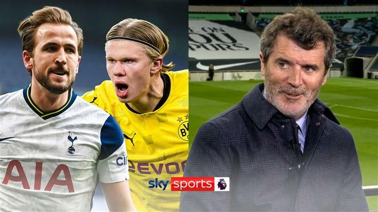 harry kane and erling haaland thumbnaill