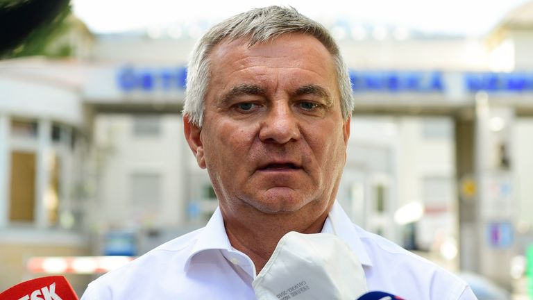 head of office vratislav mynar - who works under president milos zeman - has launched an attack on rangers and uefa