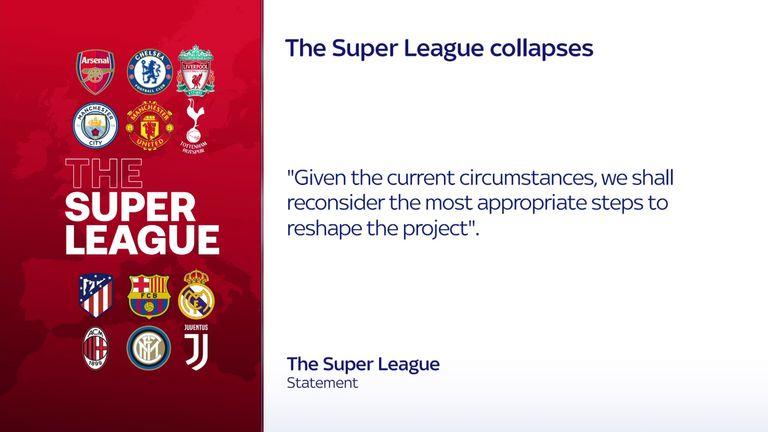 european super league statement