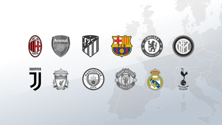 atletico madrid and inter milan follow all six premier league teams in announcing their plans to leave the super league